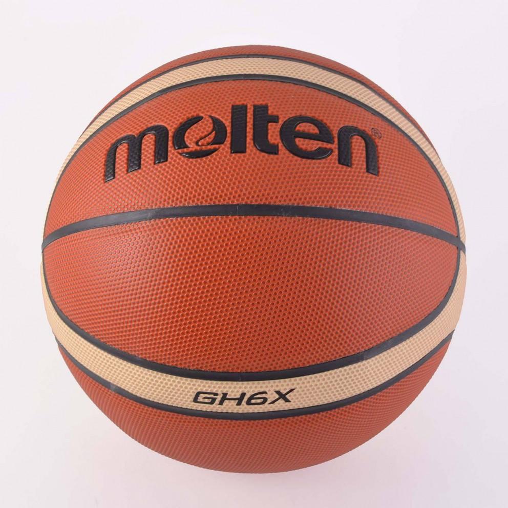 Molten Μπαλα Μπασκετ Συνθετικο Δερμα No6