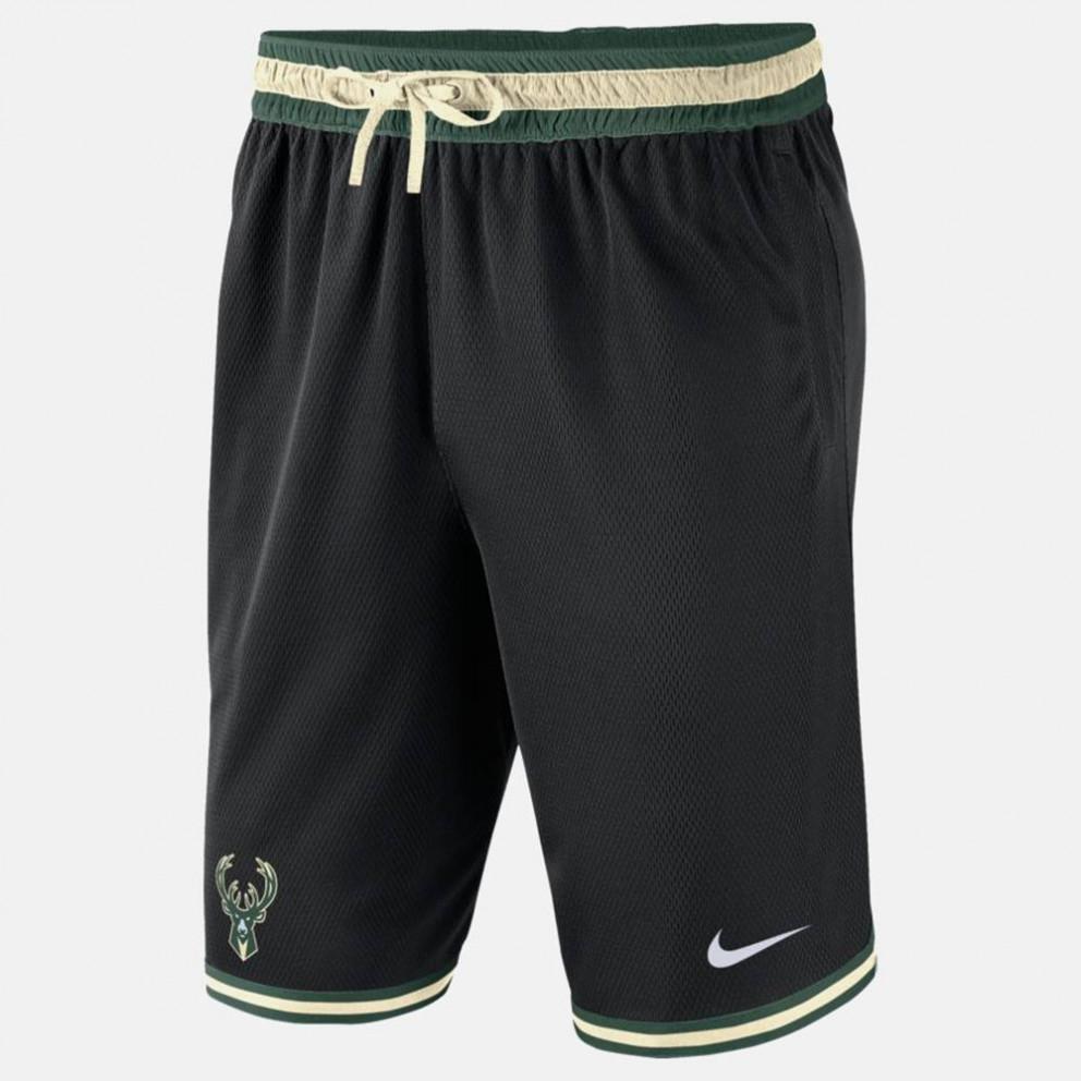Nike NBA Milwaukee Bucks Ανδρικό Μπασκετικό Σορτς
