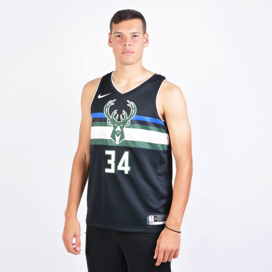Nba Swingman Giannis Antetokounmpo Bucks Jersey Statement Edition