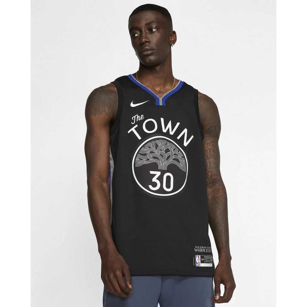 "Nike Nba ""city Edition"" Warriors  Swingman Jersey Stephen Curry"