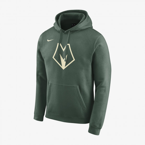 Nike Milwaukee Bucks City Edition Logo Men's Nba Hoodie