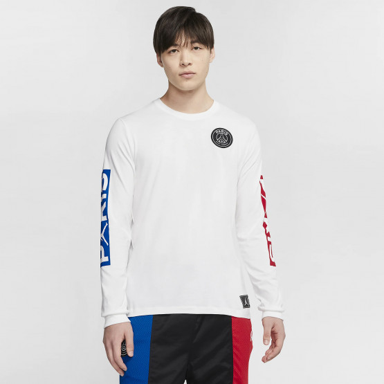 Jordan X Psg Men's Long SLeeve Tee