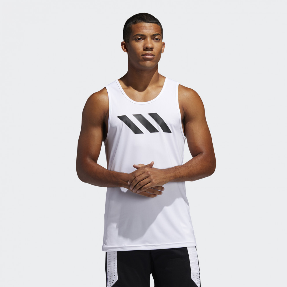 adidas Performance Sport 3-Stripes Men's Tank Top
