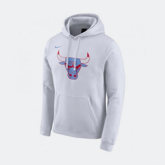 Nike Bulls City Edition Logo Men's Nba Hoodie