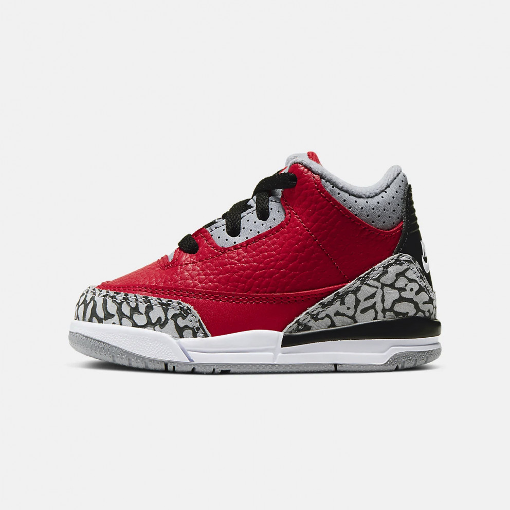 "Jordan Air 3 Retro ""Red Cement""  Toddlers' Shoes"