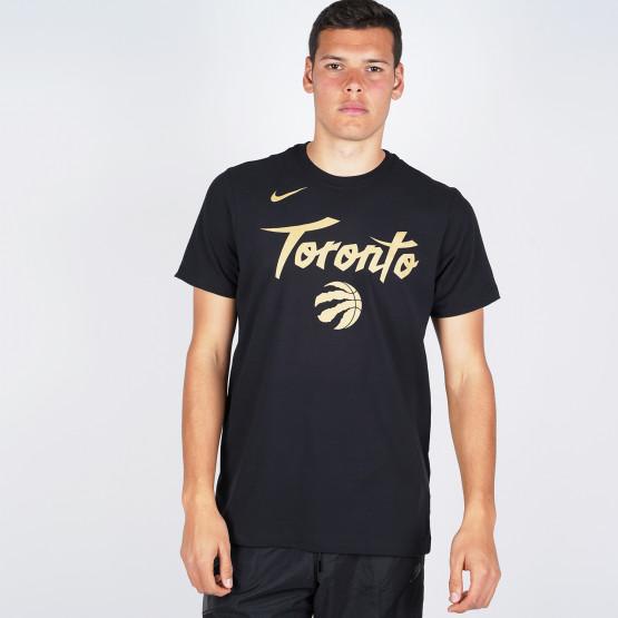 Nike Raptors City Edition Logo Men'S Nba T-Shirt