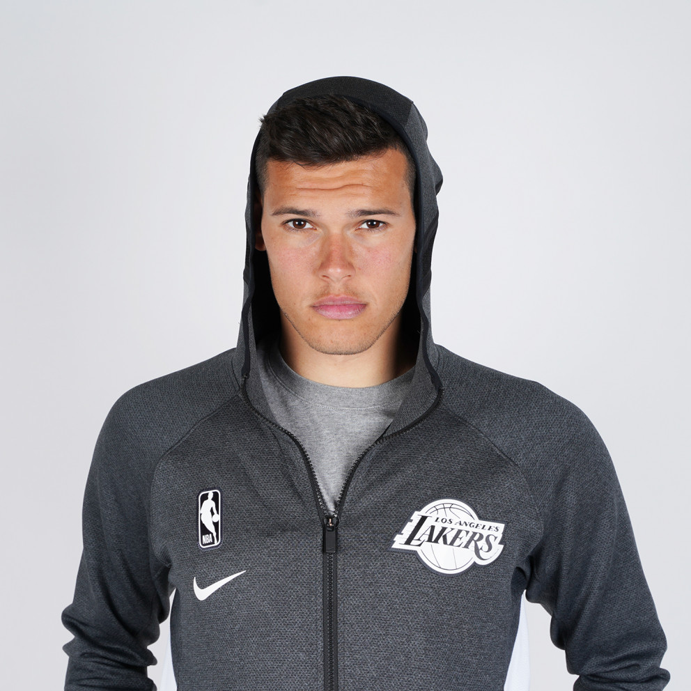 Nike Los Angeles Lakers Therma Flex Showtime Men'S Nba Hoodie