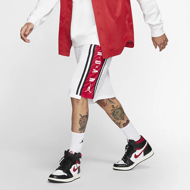Jordan Hbr Basketball Short WHITE/GYM