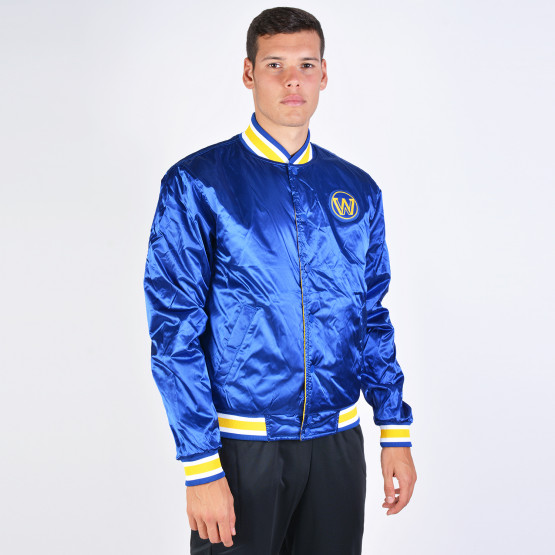 Nike Gsw M Nk Jkt Courtside Rev St