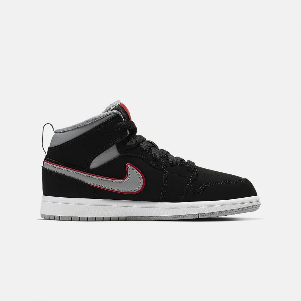 Jordan Air 1 Mid Kids' Shoes
