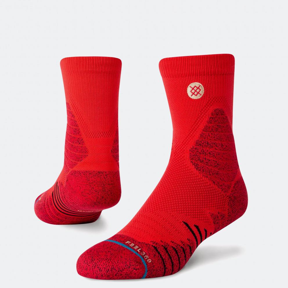 Stance Icon Hoops Crew Quarter Socks