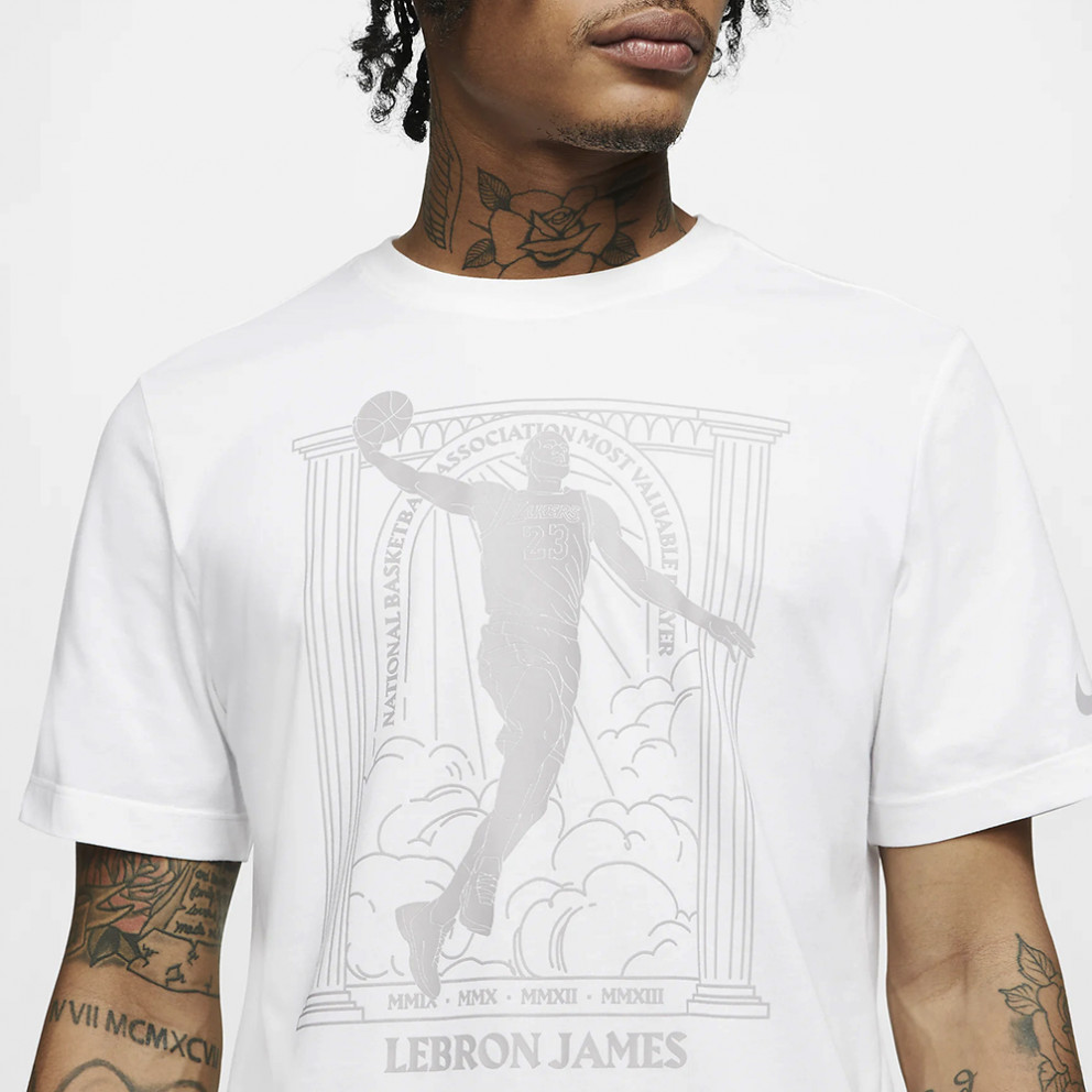 "Nike Dri-Fit Nba ""lebron James Lakers Mvp"" Men's T-Shirt"