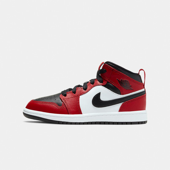 Jordan Air 1 Mid Ps Kids' Shoes photo