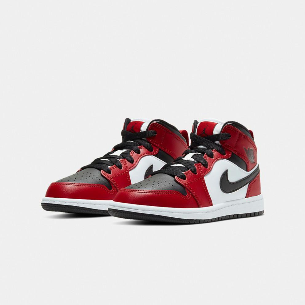 Jordan Air 1 Mid Ps Kids' Shoes