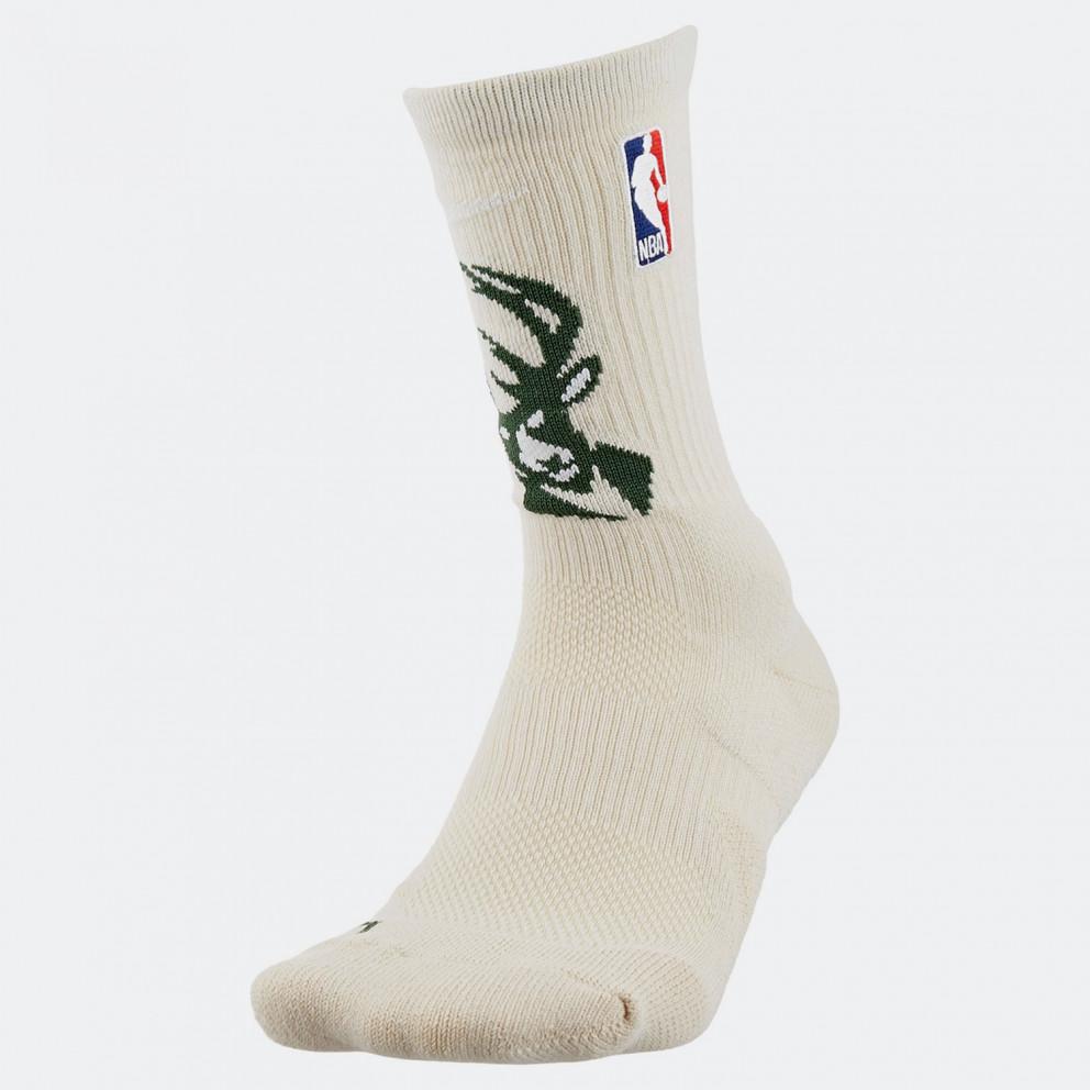 Nike Milwaukee Bucks Elite Nba Crew Socks