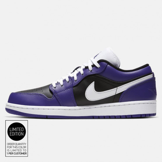 Jordan 1 Low Court Purple Men's Shoes