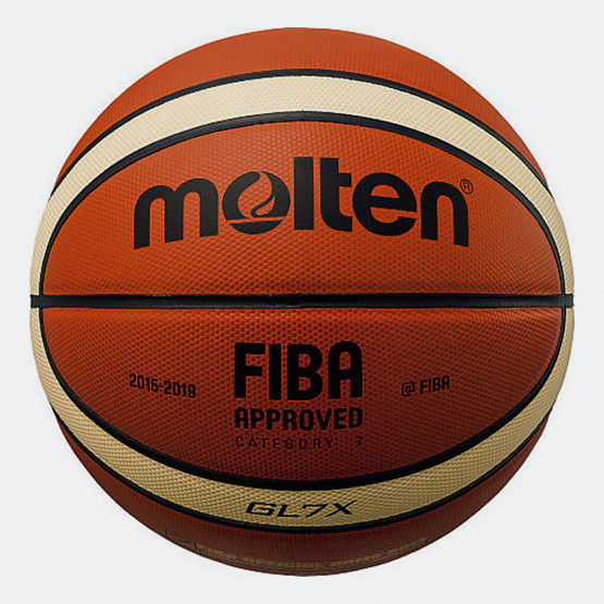 Molten Genuine Leather Μπάλα Μπάσκετ Εσωτερικού No.7