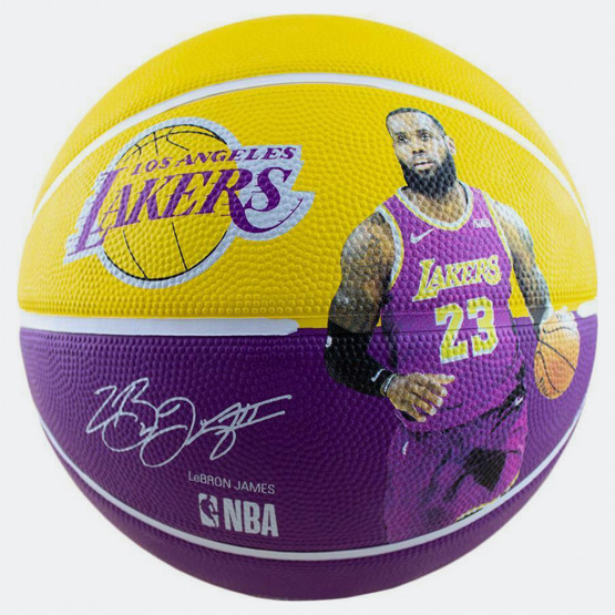 Spalding Μπάλα Μπάσκετ Lebron James Lakers No. 7