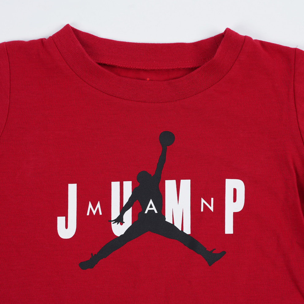 Jordan Jdb Jump Ss Tee And Jogger Kids' Set