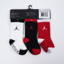 Jordan Speckle Infant/Toddler Crew 3Pk Παιδικό Σετ Κάλτσες