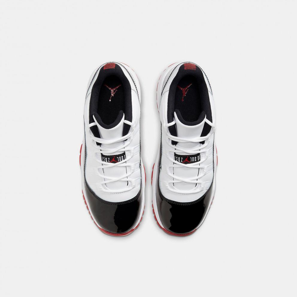 "Jordan Air 11 Retro Low Kids' Shoes ""Concord Bred"""