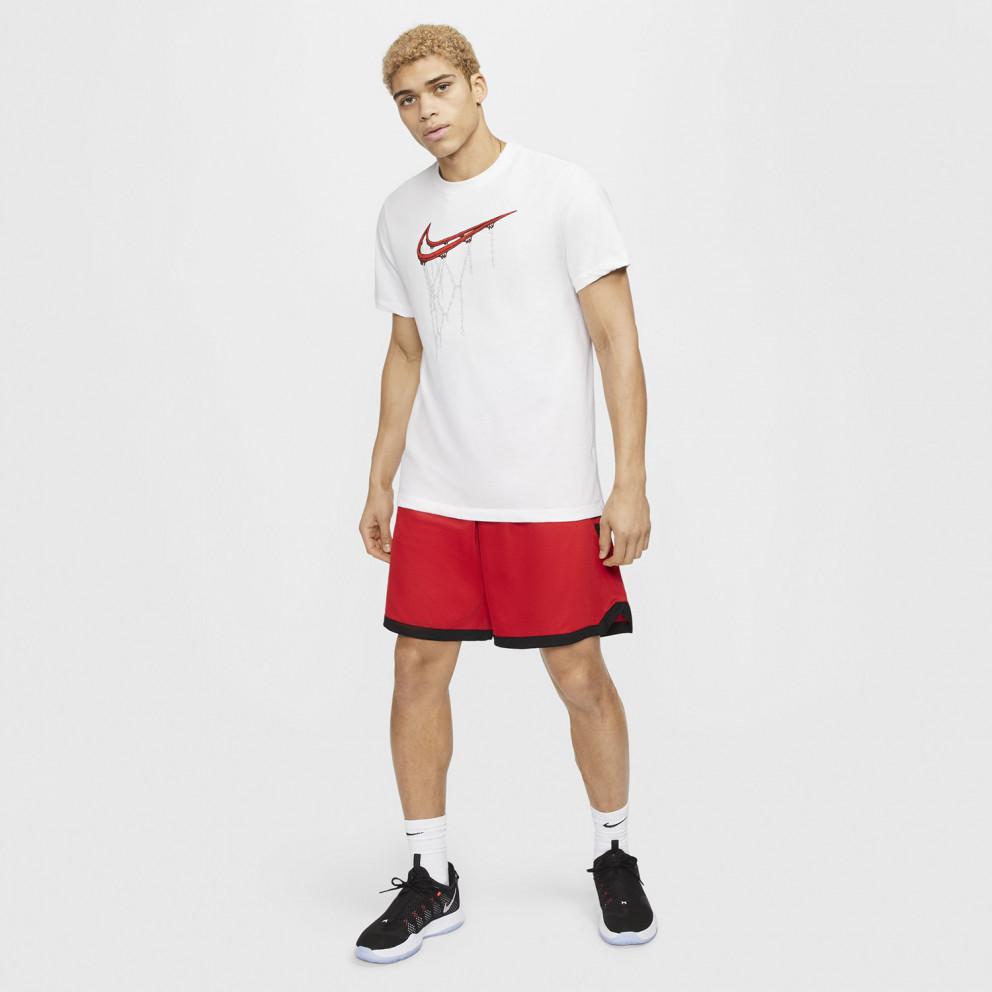Nike Dri-FIT Swoosh Ανδρική Μπλούζα για Μπάσκετ