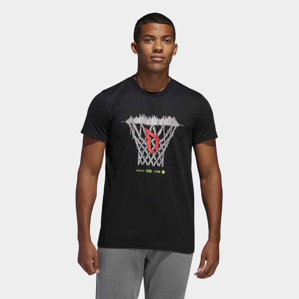 adidas Performance Dame Logo Men's Tee