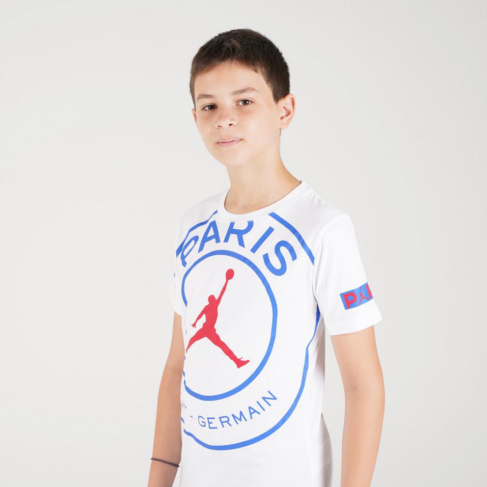 Jordan Bcfc Ss Logo Tee Παιδική Μπλούζα