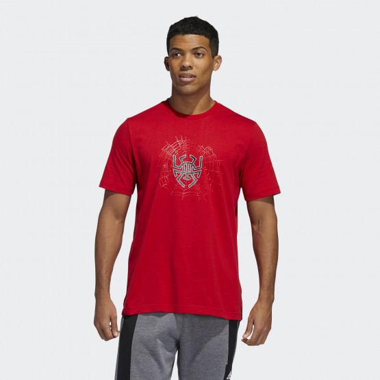 adidas Performance Donovan Logo Men's Tee For Basket