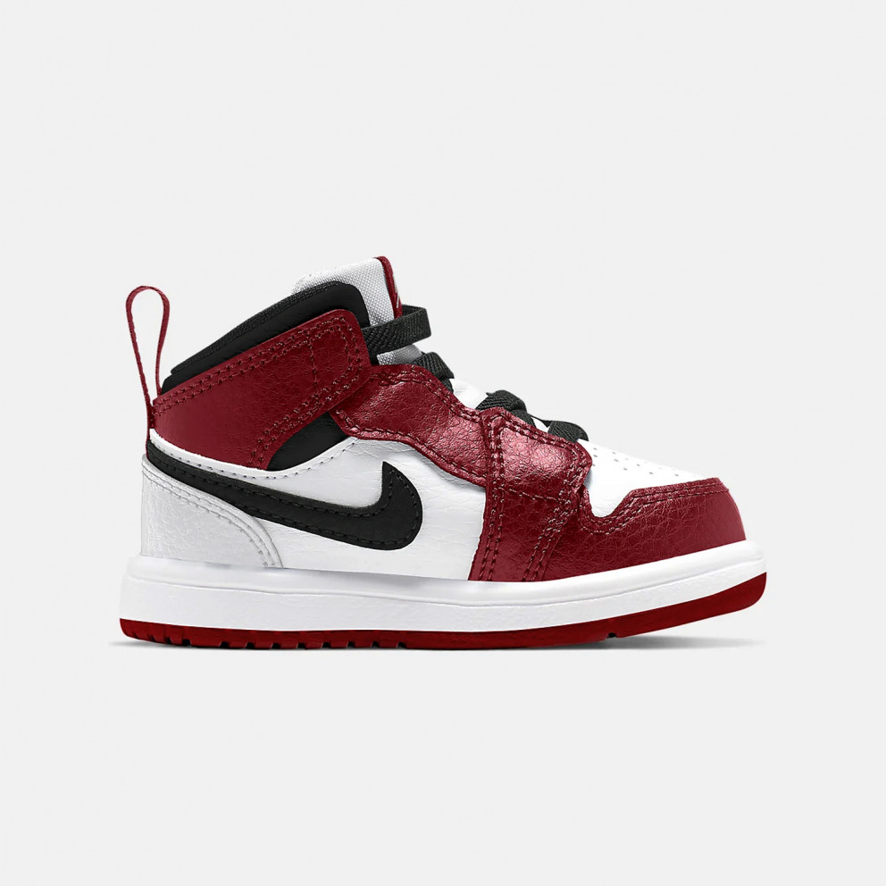 Jordan 1 Mid Toddler's Shoes