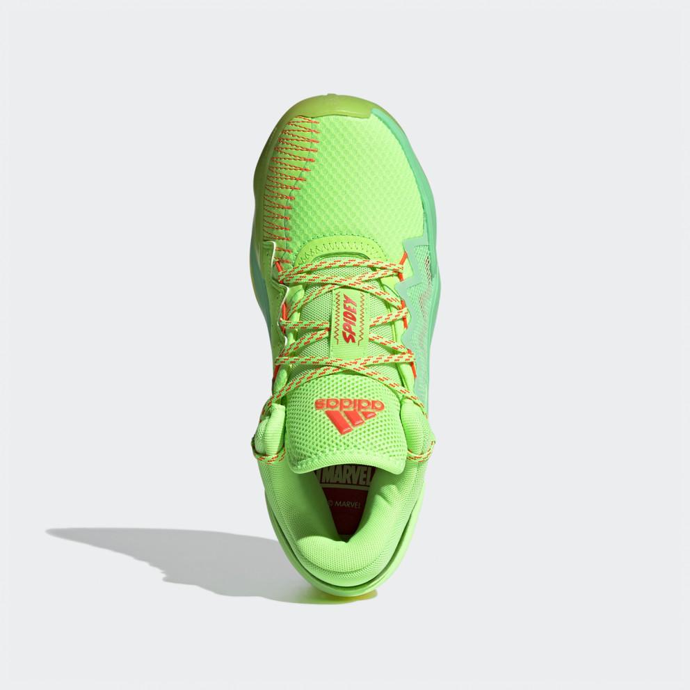 adidas Performance D.O.N. Issue 2 Marvel Spidey Sense Kids' Shoes