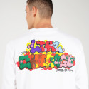 Jordan Jumpman Chicago Collaborators Men's Long-Sleeved T-Shirt 6