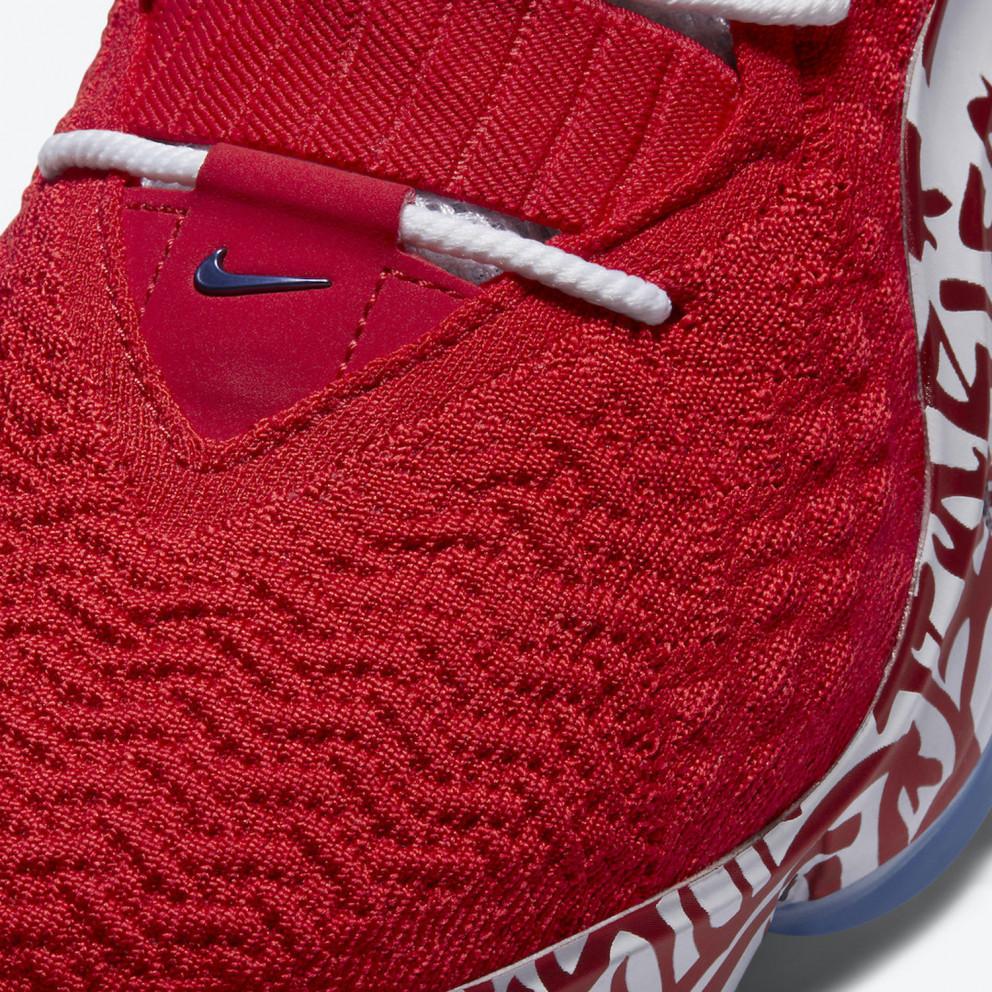 """Nike LeBron 17 """"Graffiti Fire Red"""" Men's Shoes"""