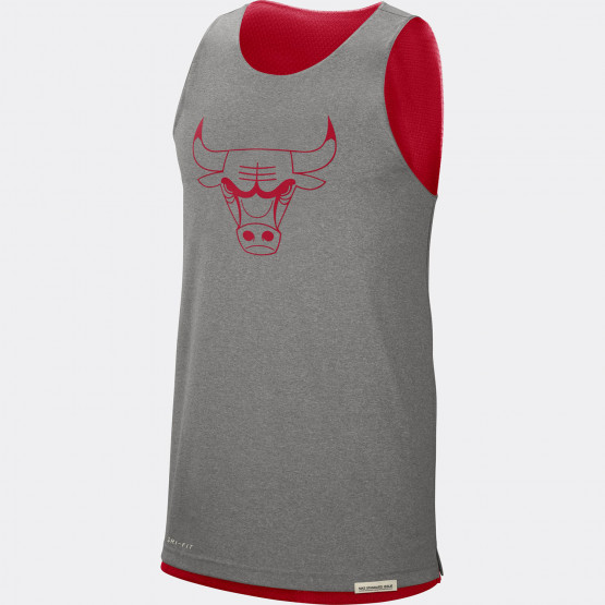 Nike NBA Chicago Bulls Standard Issue Ανδρικό Reversible Αμάνικο