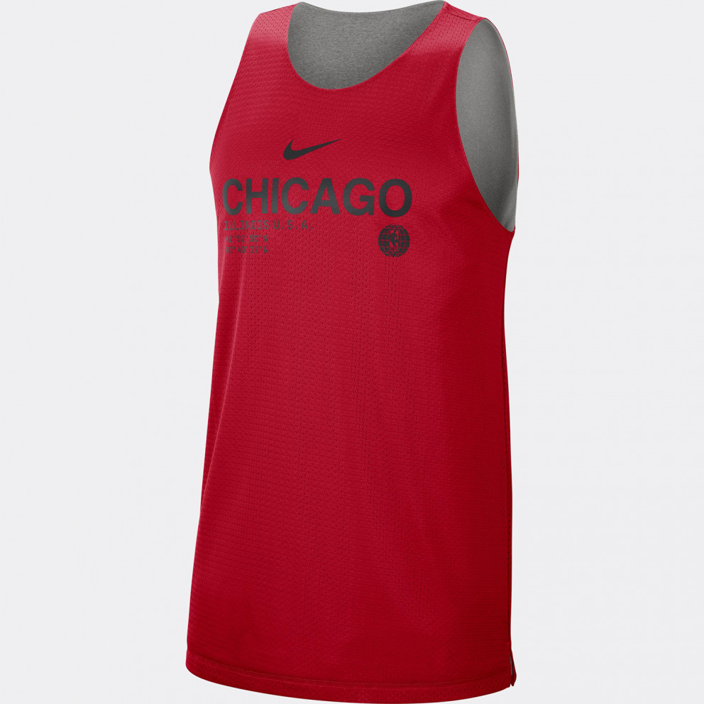 Nike NBA Chicago Bulls Standard Issue Men's Reversible Tank