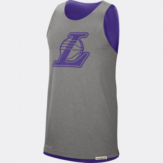 Los Angeles Lakers Standard Issue Men's Nike NBA Reversible Tank