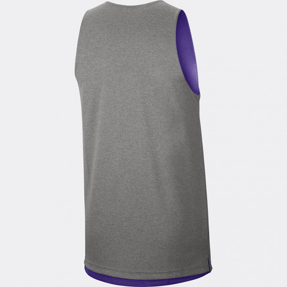 Los Angeles Lakers Standard Issue Men's Nike NBA Reversible Tank