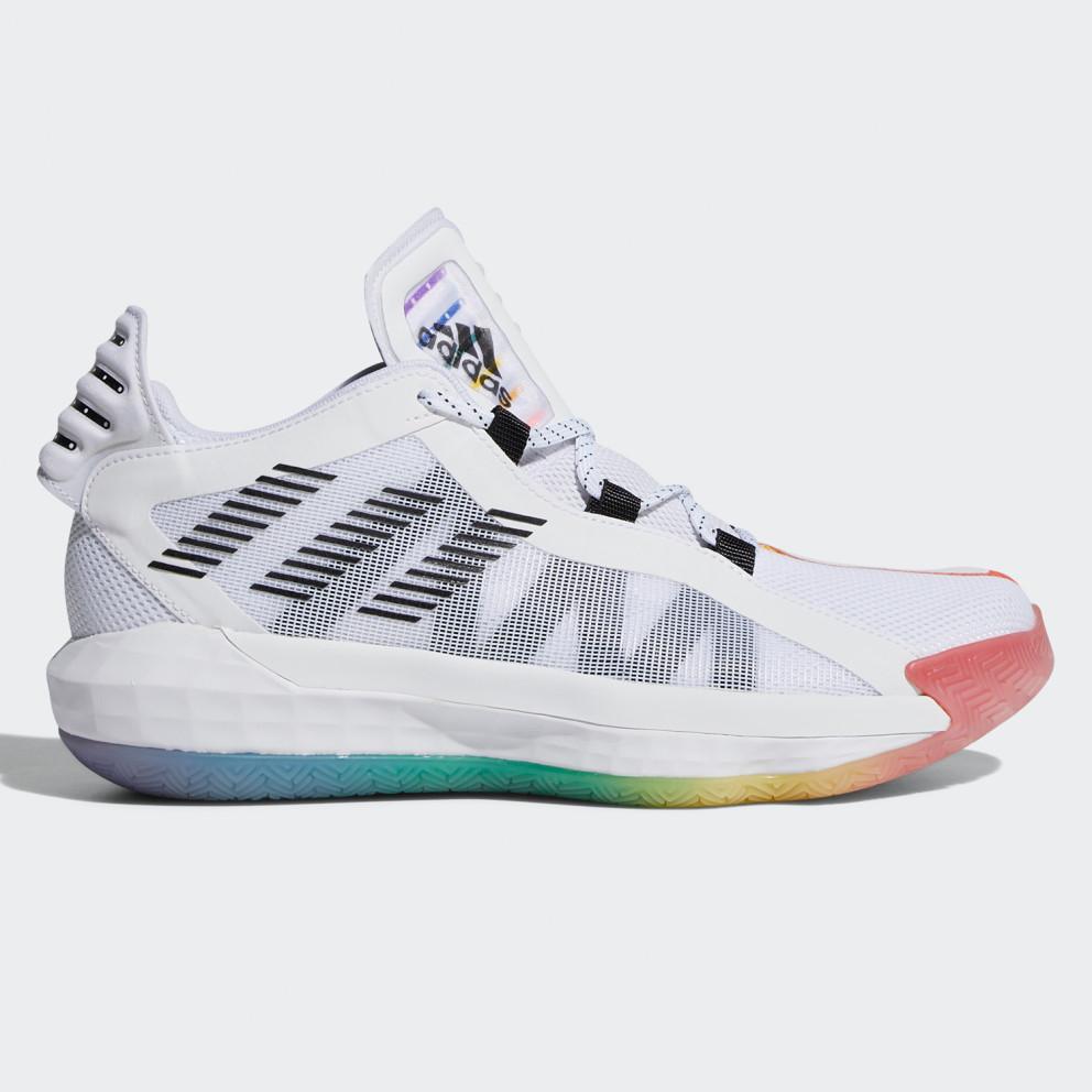 adidas Dame 6 Gca - Pride ftwr white