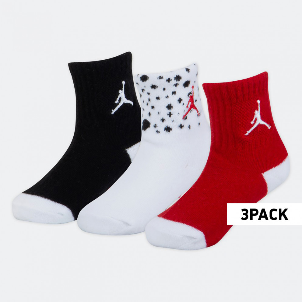 Jordan Ankle 3PK Kids' Socks