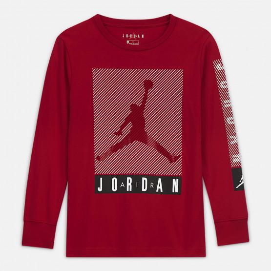 Jordan Jumpman Blinds Παιδική Μακρυμάνικη Μπλούζα