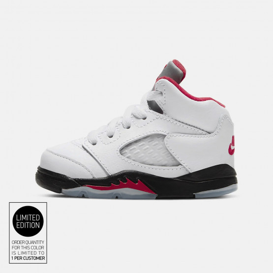 "Air Jordan Retro 5 ""fire Red"" Infants' Shoes photo"