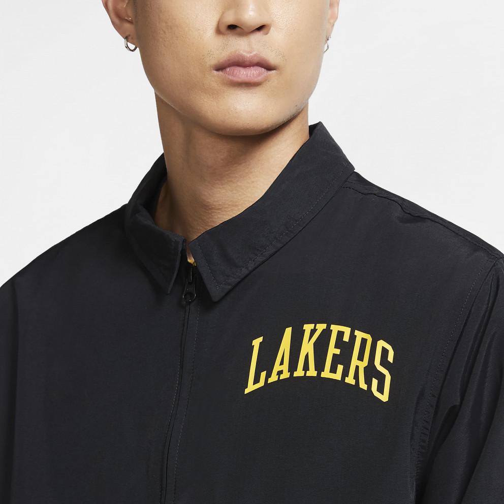 Nike NBA Lakers Ανδρικό Ανάλαφρο Μπουφάν