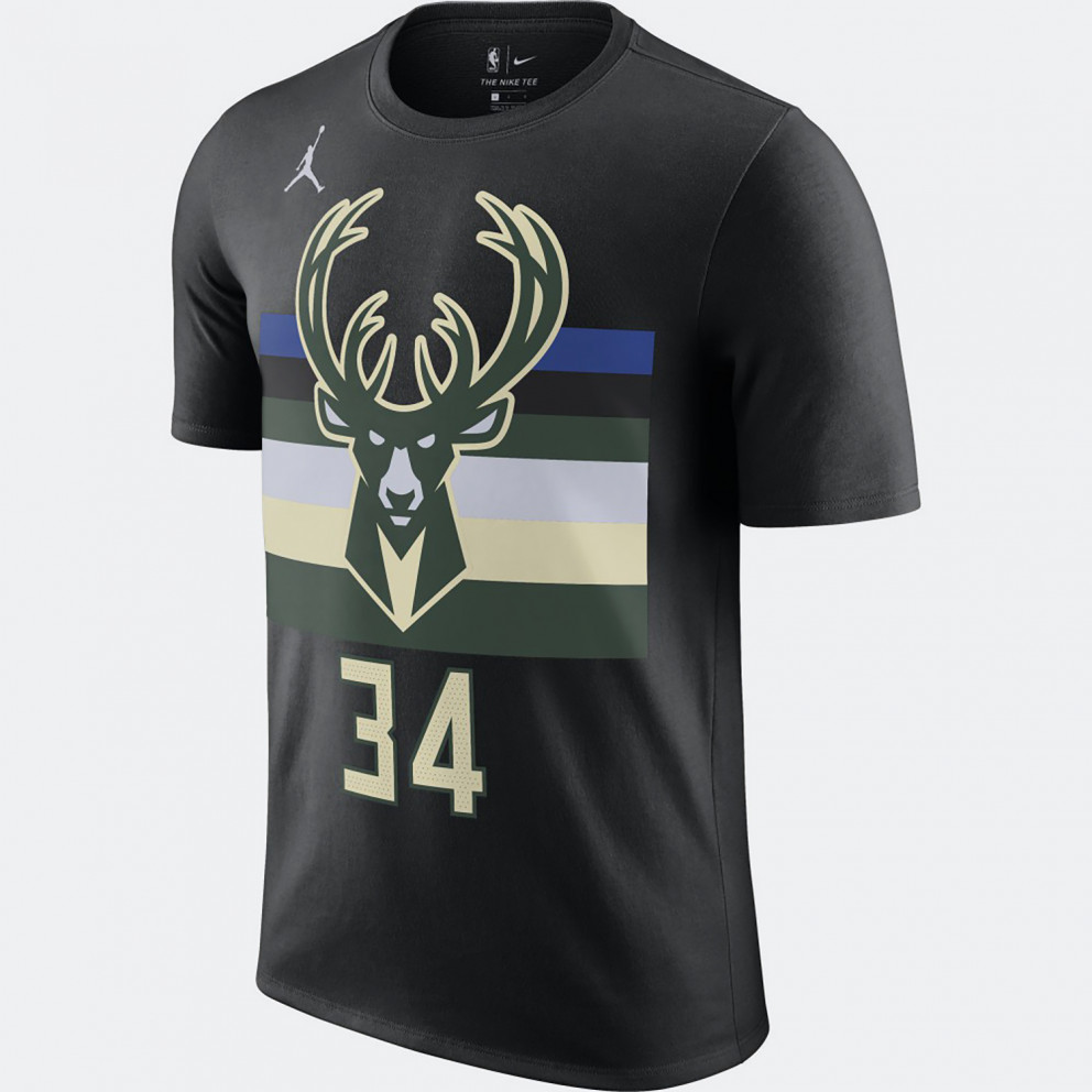 Nike NBA Giannis Antetokounmpo Bucks Statement Men's T-Shirt
