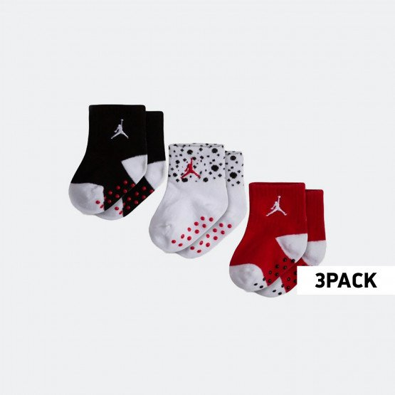 Jordan Cement  Ankle 3PK Toddlers Socks