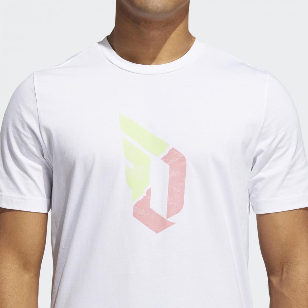 adidas Performance Dame Duality Logo Ανδρικό T-Shirt