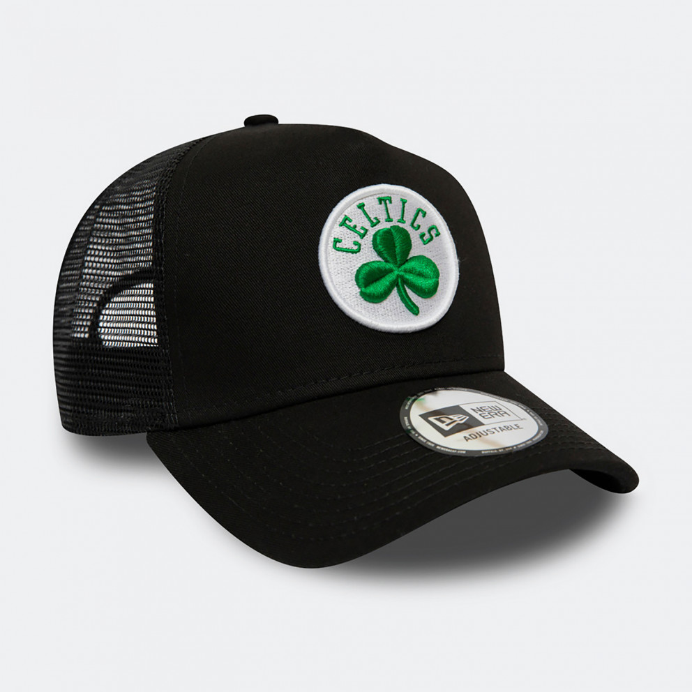 NEW ERA Dark Base Team Af Trucker Boston Celtics