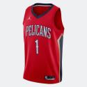 Jordan NBA Zion Williamson New Orleans Pelicans Statement Edition 2020 Men's Jersey