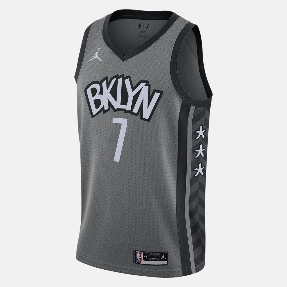 Jordan NBA Kevin Durant Brooklyn Nets Statement Edition 2020 Men's Jersey