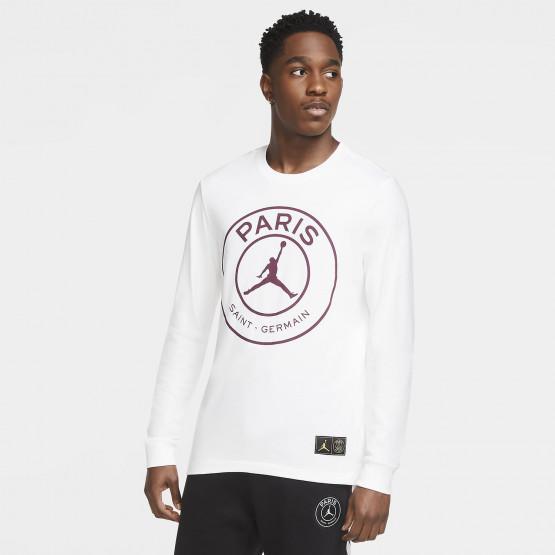 Jordan x PSG Ανδρική Μακρυμάνικη Μπλούζα