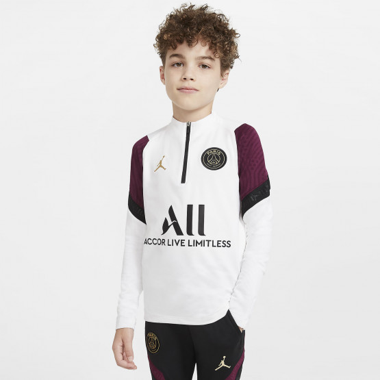 Nike x PSG Dry Strike Kid's Long-Sleeve Shirt